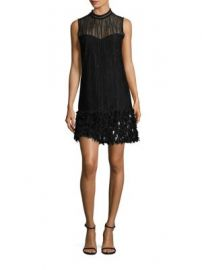 Elie Tahari - Mirage Feathered Dress at Saks Fifth Avenue