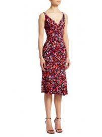 Elie Tahari - Yirma Floral Sleeveless Dress at Saks Fifth Avenue