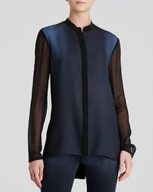 Elie Tahari Amira Ombr Blouse at Bloomingdales