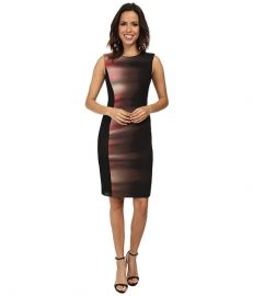 Elie Tahari Isabella Dress Black at 6pm