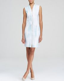 Elie Tahari Leslie Zip Front Sheath at Bloomingdales