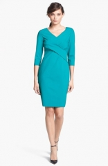 Elie Tahari Lynn V-Neck Dress at Nordstrom