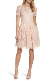 Eliza J Lace Fit  amp  Flare Dress at Nordstrom