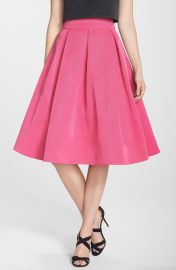 Eliza J Faille Midi Skirt at Nordstrom