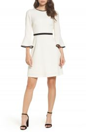 Eliza J Fit   Flare Dress  Regular   Petite at Nordstrom