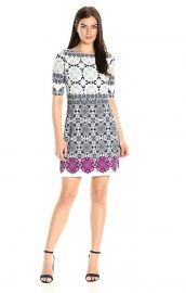 Eliza J Medallion Print Shift Dress at Amazon