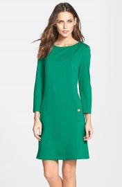 Eliza J Ponte A-Line Dress at Nordstrom