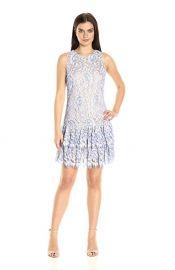 Eliza J Ruffle Shift Dress at Amazon