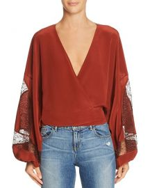 Elizabeth and James Talia Blouse at Bloomingdales