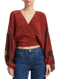 Elizabeth and James Talia Blouse at Saks Fifth Avenue