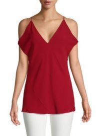 Elizabeth and James - Arimah Cold-Shoulder Top at Saks Off 5th