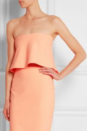 Elizabeth and James  Addilyn cropped stretch-crepe top at Net A Porter