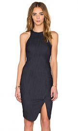 Elizabeth and James Bardot Dress in Indigo from Revolvecom at Revolve