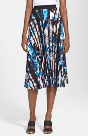 Elizabeth and James Caident Print Skirt at Nordstrom