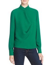 Elizabeth and James Darby Stand Collar Blouse at Bloomingdales