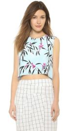 Elizabeth and James Leaf Print Cameo Top at Shopbop