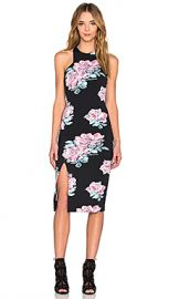 Elizabeth and James Leya Dress in Black Multi at Revolve