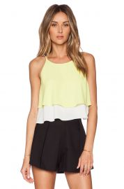 Elizabeth and James Lila Top at Revolve