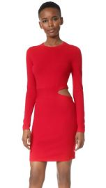 Elizabeth and James Railey Long Sleeve Dress with Side Cutout Detail at Shopbop