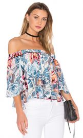 Elizabeth and James Vanessa Top in Multi from Revolve com at Revolve