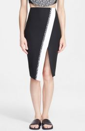Elizabeth and James and39Bradshawand39 Asymmetrical Wrap Pencil Skirt at Nordstrom