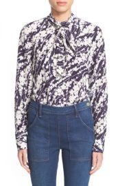 Elizabeth and James and39Debbieand39 Floral Print Silk Blouse at Nordstrom