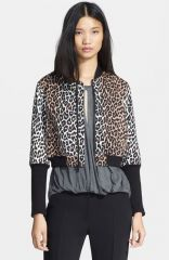 Elizabeth and James and39Lenaand39 Animal Print Crop Jacket at Nordstrom