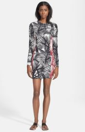 Elizabeth and James and39Mailynand39 Palm Print Body-Con Dress at Nordstrom