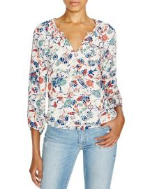 Ella Moss Dolce Flora Crepe Top at Bloomingdales