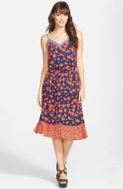 Ella Moss Poppy Print Tank Dress at Nordstrom