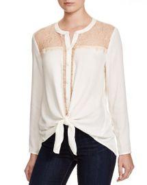 Ella Moss Stella Lace Inset Shirt at Bloomingdales