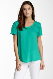 Ella Moss circle trim short sleeve tee at Nordstrom Rack
