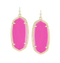 Elle Earrings in Magenta at Kendra Scott