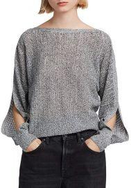 Elle Slit-Sleeve Sweater at Bloomingdales