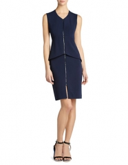 Ellen Peplum dress by Bcbgmaxazria at Lord & Taylor