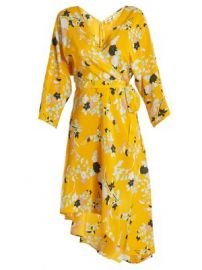 Eloise silk wrap dress at Matches