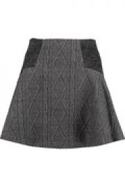 Elsie jacquard mini skirt at The Outnet