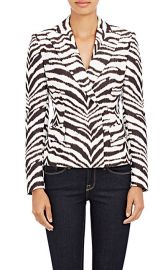 Emanuel Ungaro Zebra Jacket at Barneys Warehouse