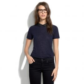 Embellished Collar Tee at Madewell