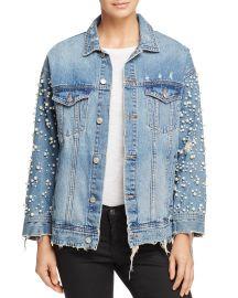 Embellished Denim Jacket at Bloomingdales