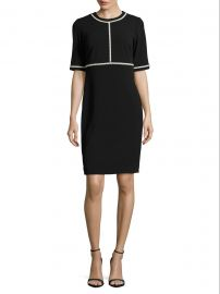 Embellished Sheath Dress by Karl Lagerfeld Paris at Saks Off Fifth