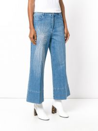 Embellished Wide-leg Jeans by Stella McCartney at Farfetch