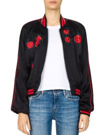 Embroidered Bomber Jacket by The Kooples at Bloomingdales