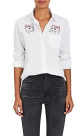 Embroidered Cotton Shirt at Barneys