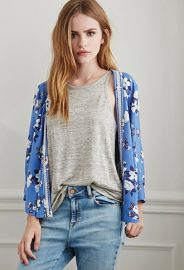 Embroidered Floral Print Kimono  Forever 21 - 2000053334 at Forever 21