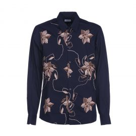 Embroidered Flowers Shirt by Dries Van Noten at Italist