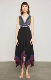 Embroidered Handkerchief Dress at Bcbg