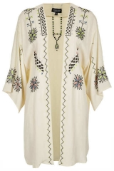 Embroidered Kimono by Topshop at Nordstrom