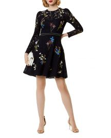 Embroidered Lace Dress by Karen Millen at Bloomingdales