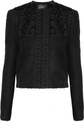 Embroidered Shearling Jacket by Isabel Marant at The Outnet